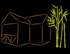 pictogramme représentant l'architecture des gîtes
