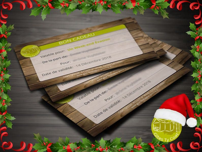 Carte Cadeau Noel